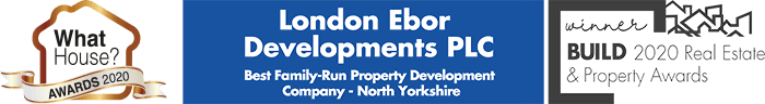 What House? Awards 2020 and BUILD 2020 Real Estate & Property Awards - London Ebor Developments